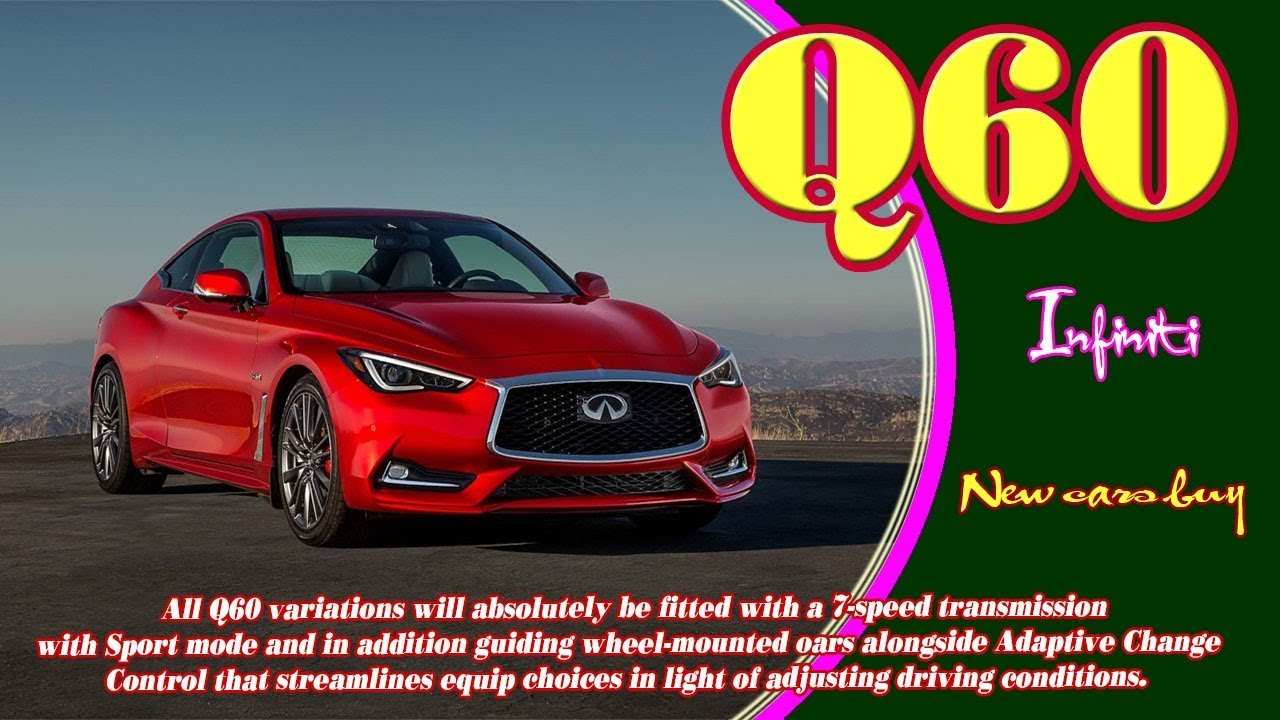 50 The Best 2020 Infiniti Q60 Coupe Convertible Exterior