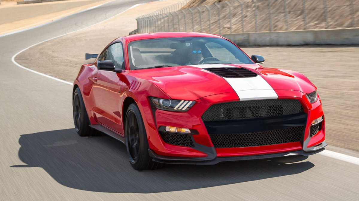 51 A 2019 Ford Mustang Shelby Gt500 Engine