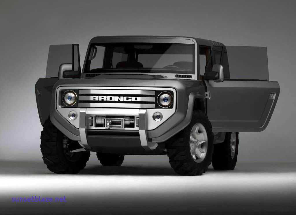 51 All New 2019 Ford Svt Bronco Raptor Redesign