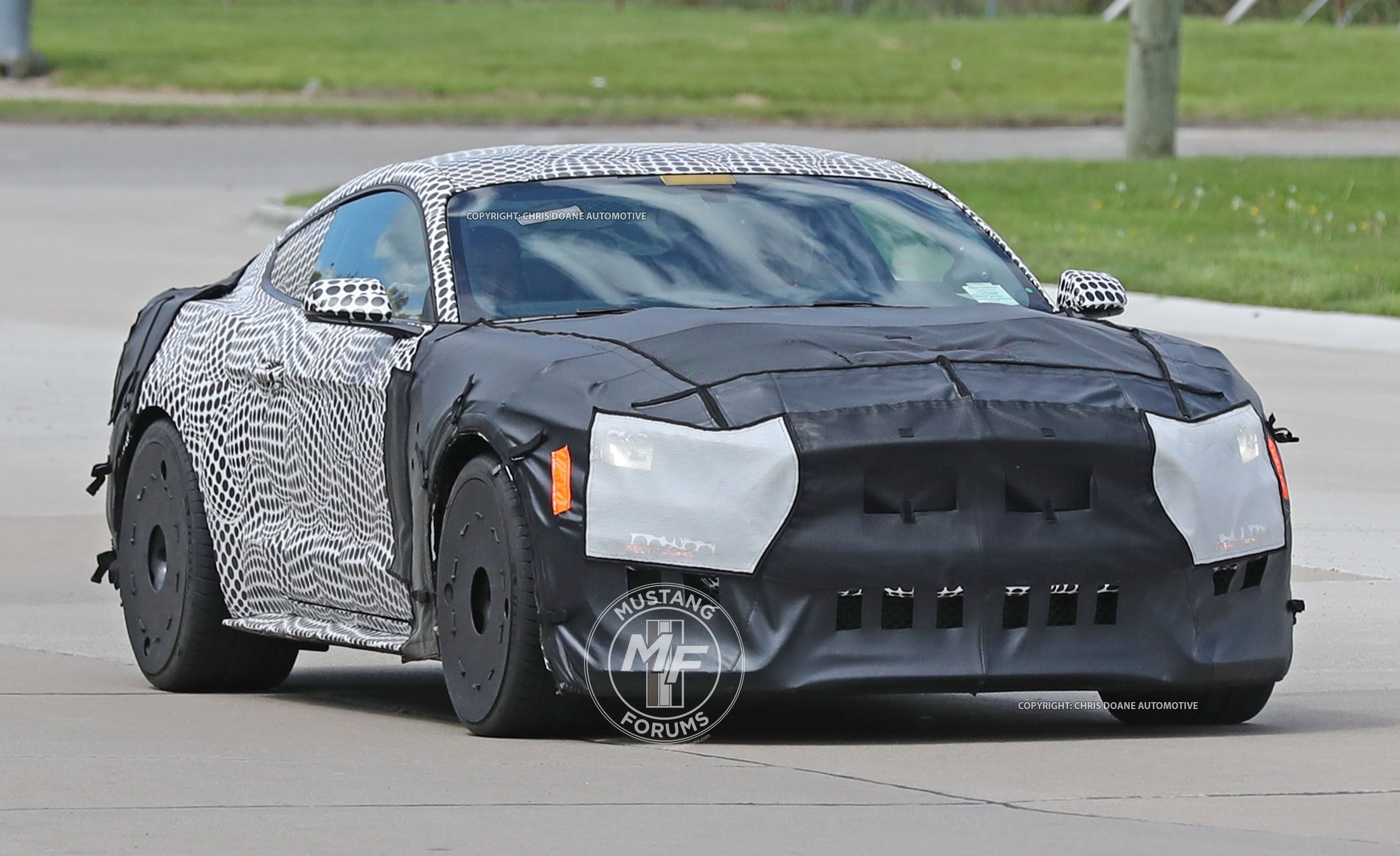 51 All New Spy Shots Ford Mustang Svt Gt 500 Concept