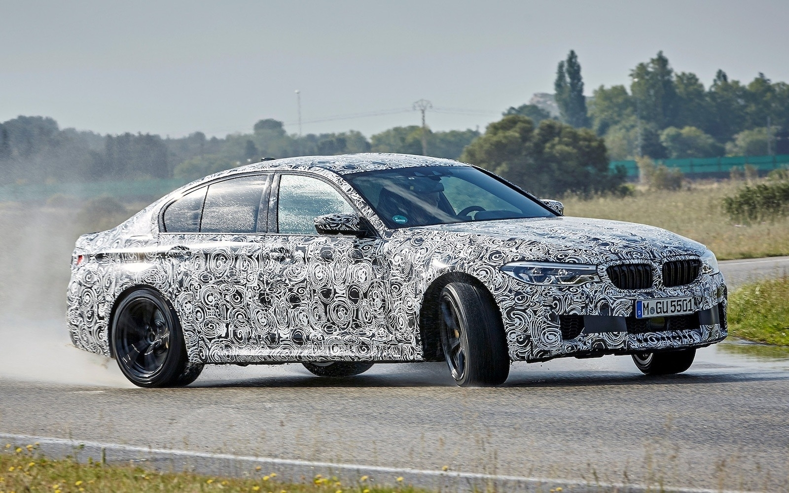 52 A 2019 BMW M5 Xdrive Awd Exterior and Interior