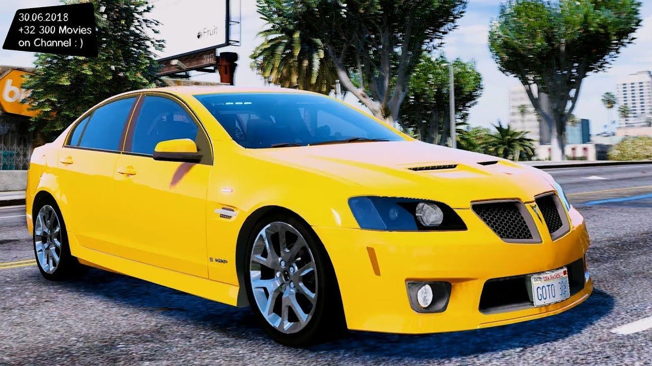 52 A 2020 Pontiac G8 Gt Spy Shoot