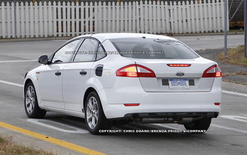 52 A Spy Shots Ford Fusion New Concept