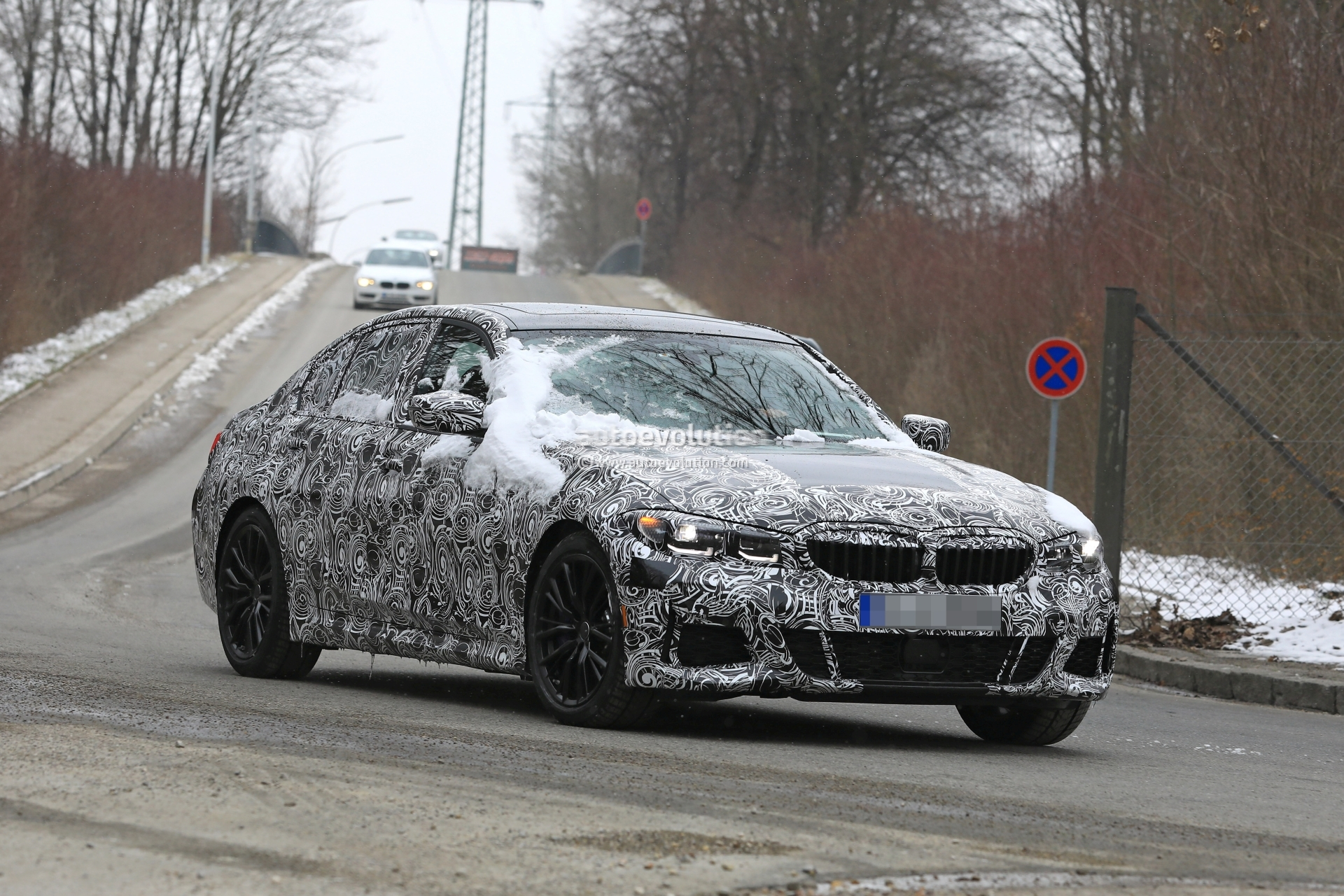 53 All New Spy Shots BMW 3 Series First Drive