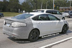 53 The Spy Shots Ford Fusion Release