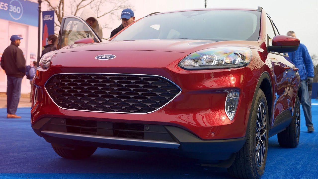 54 All New 2020 Ford Escape Review and Release date
