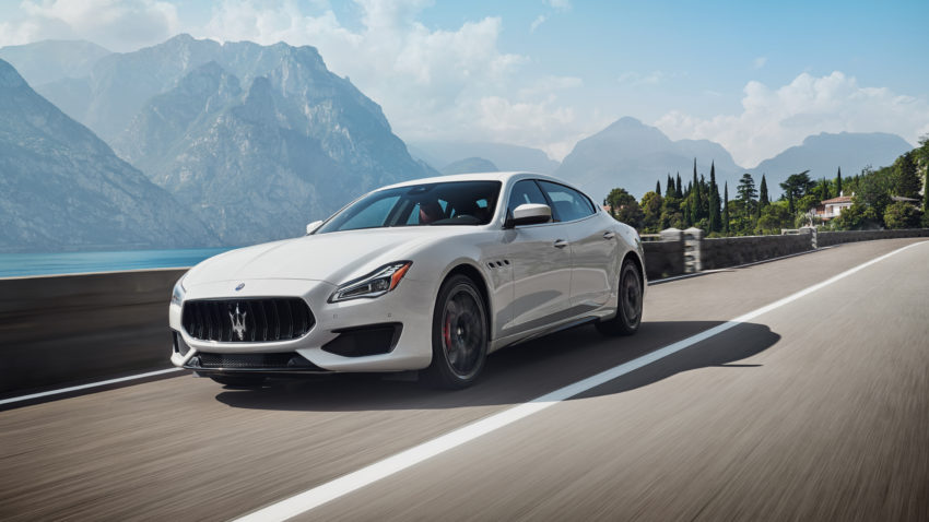 54 The 2020 Maserati Quattroportes Pictures