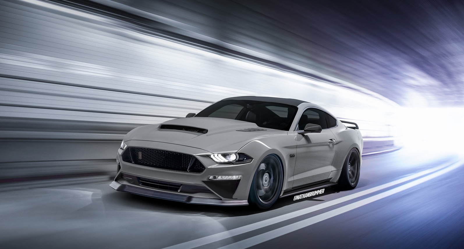 55 A 2019 Ford Mustang Shelby Gt500 Speed Test