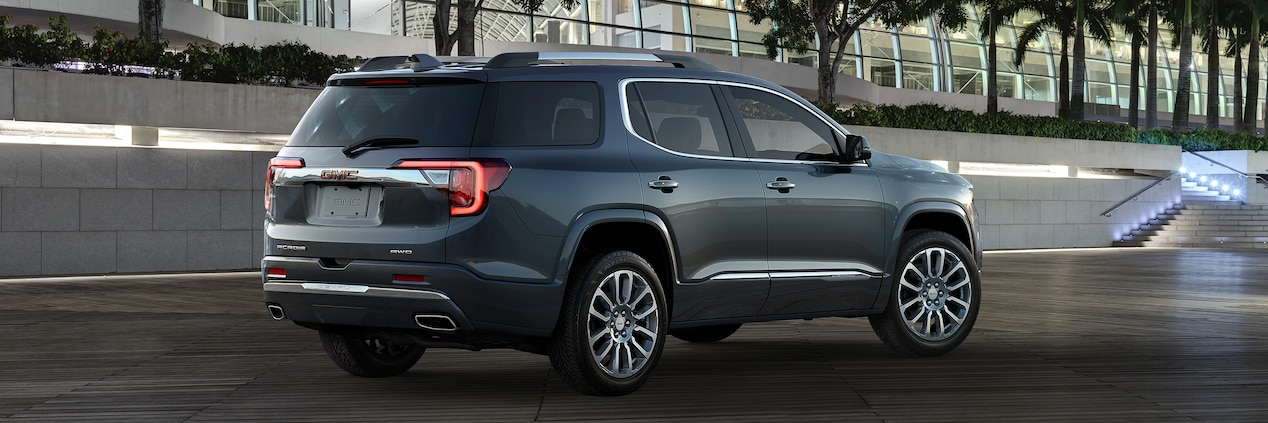 55 A 2020 GMC Acadia Exterior and Interior