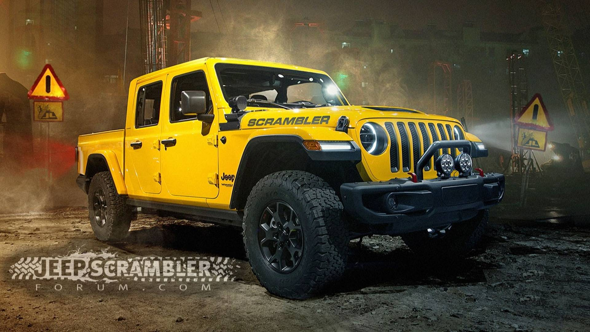 55 A 2020 Jeep Wrangler Wallpaper