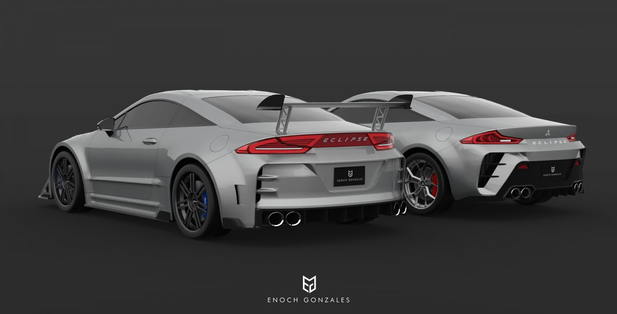 55 A 2020 Mitsubishi Eclipse Redesign and Concept