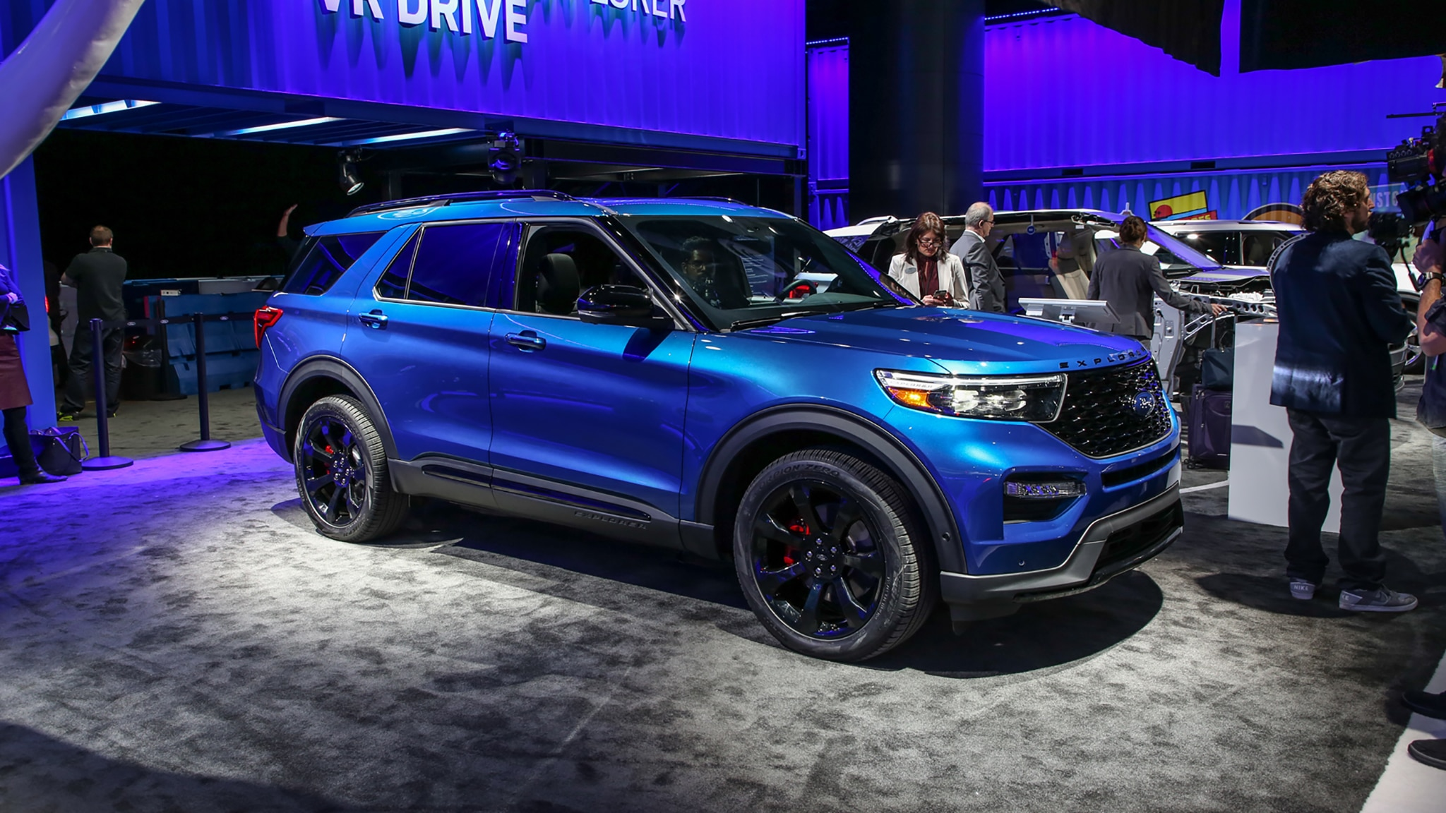 55 All New 2020 Ford Explorer Sports Redesign and Concept