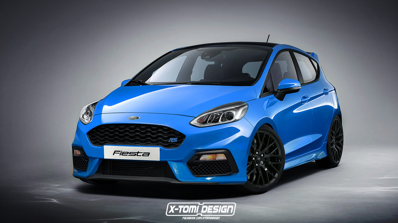 56 A 2020 Ford Fiesta Speed Test
