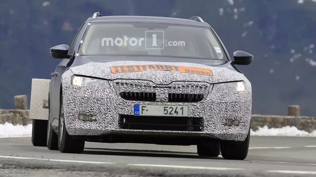 56 A Spy Shots Skoda Superb Redesign and Review