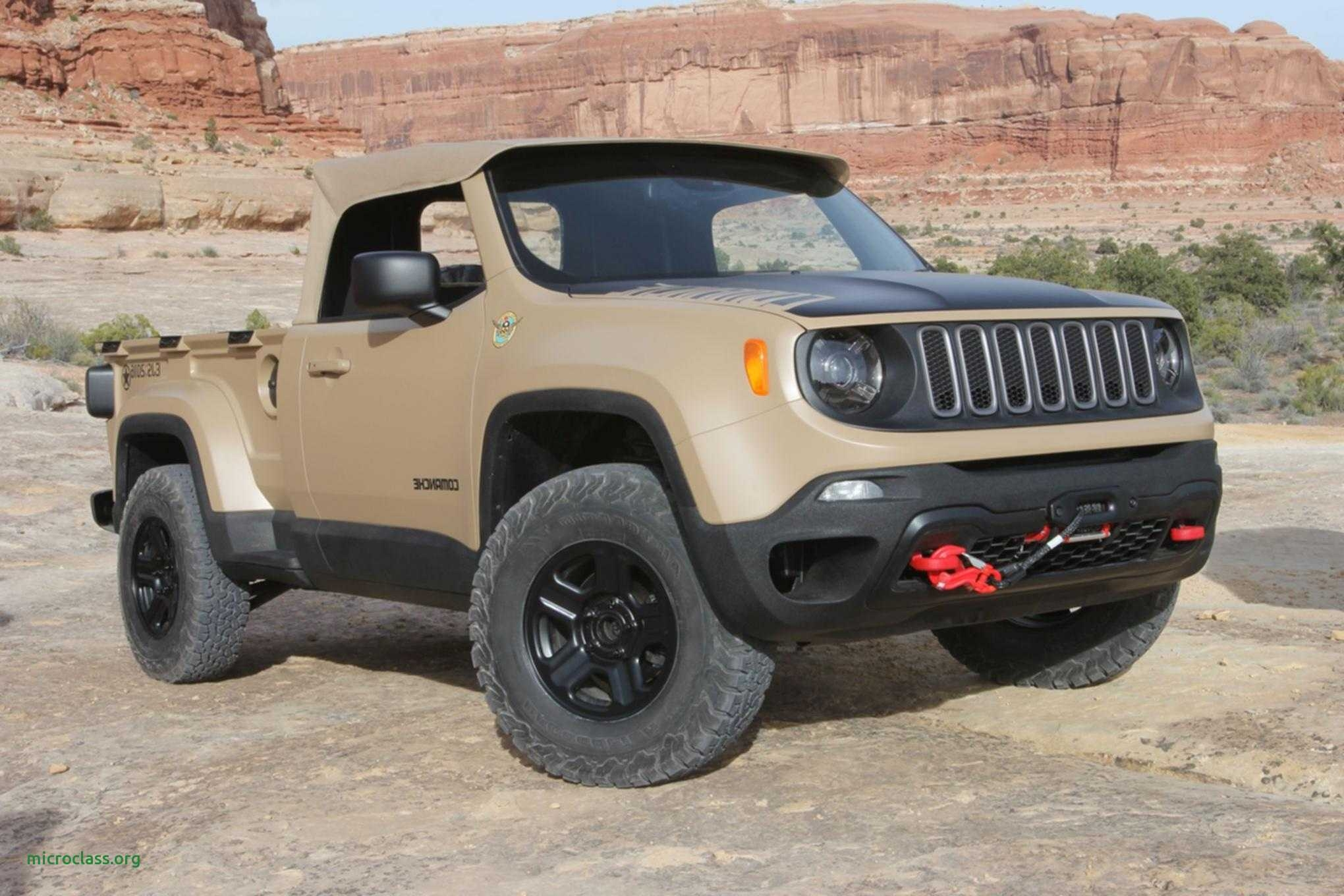 56 All New 2019 Jeep Comanche Concept and Review