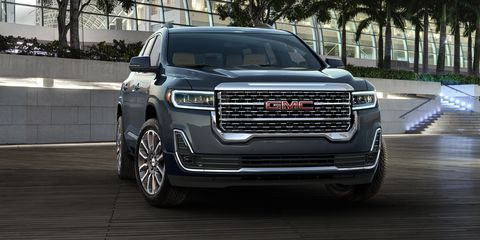 56 New 2020 GMC Acadia Performance