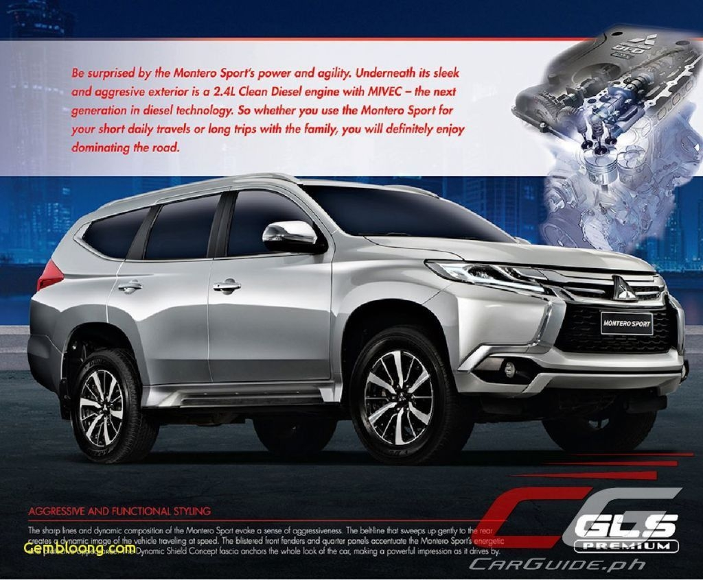 56 New 2020 Mitsubishi Montero Sport Philippines Spy Shoot