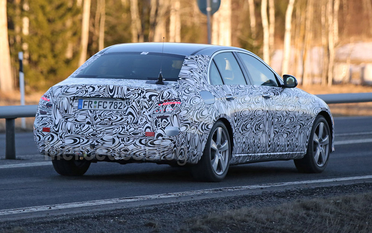 56 New Spy Shots Mercedes E Class New Model and Performance