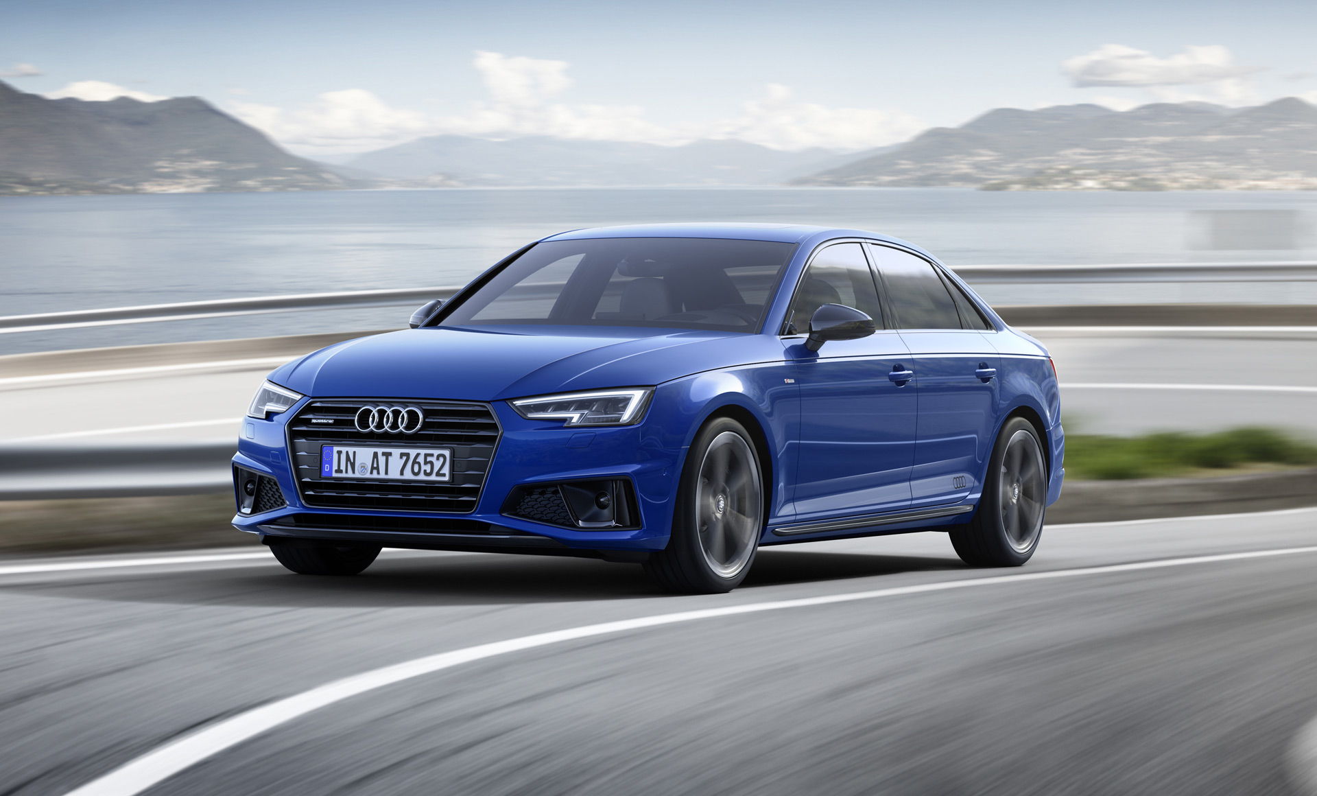 56 The 2019 Audi A4 Engine