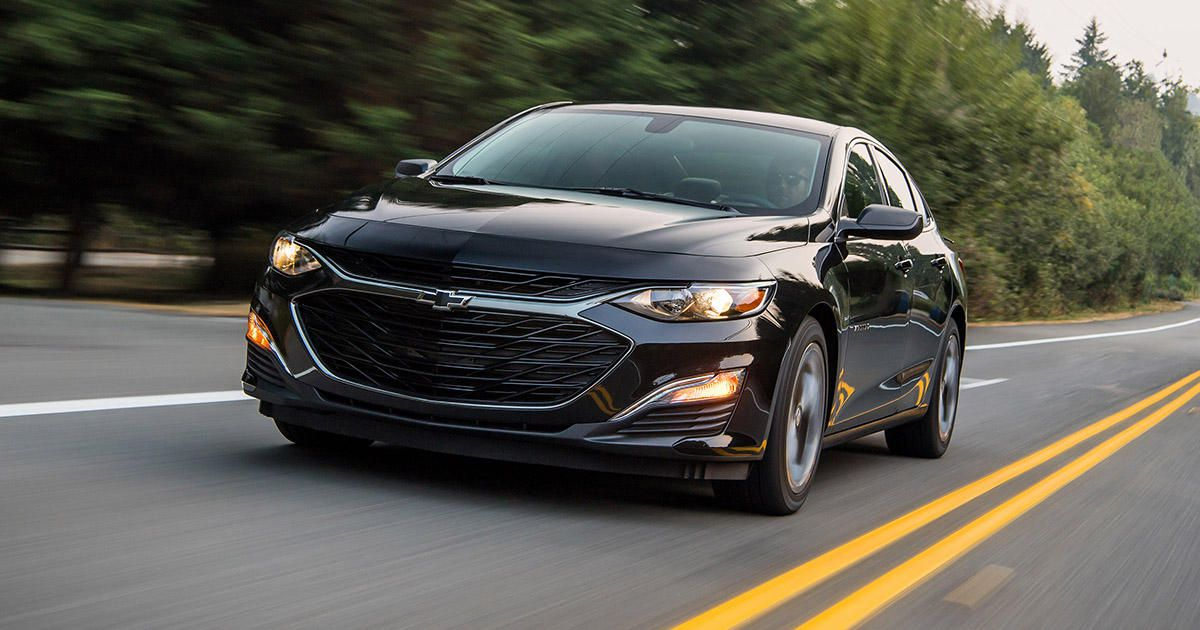 57 A 2019 Chevy Malibu Images