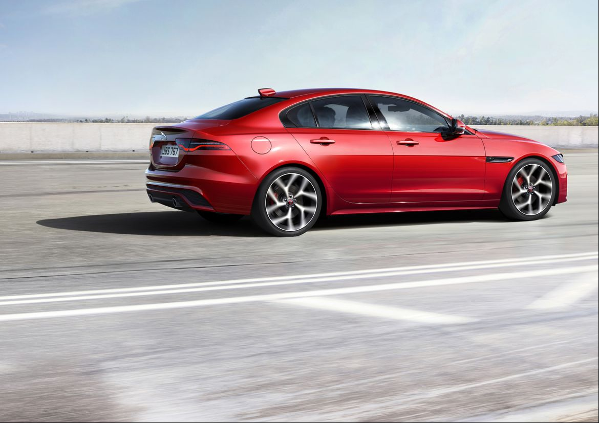 57 A 2020 All Jaguar Xe Sedan Configurations
