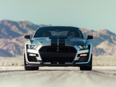 57 A 2020 Ford Mustang Shelby Gt500 Redesign