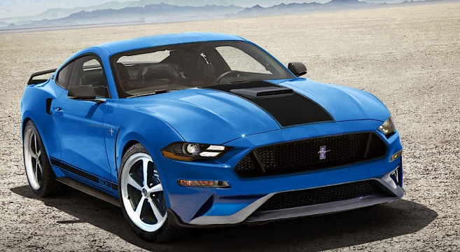58 A 2019 Mustang Mach Style