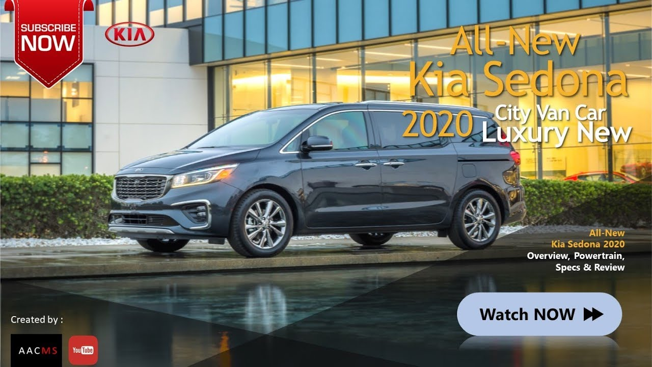 58 A 2020 The All Kia Sedona Release Date and Concept