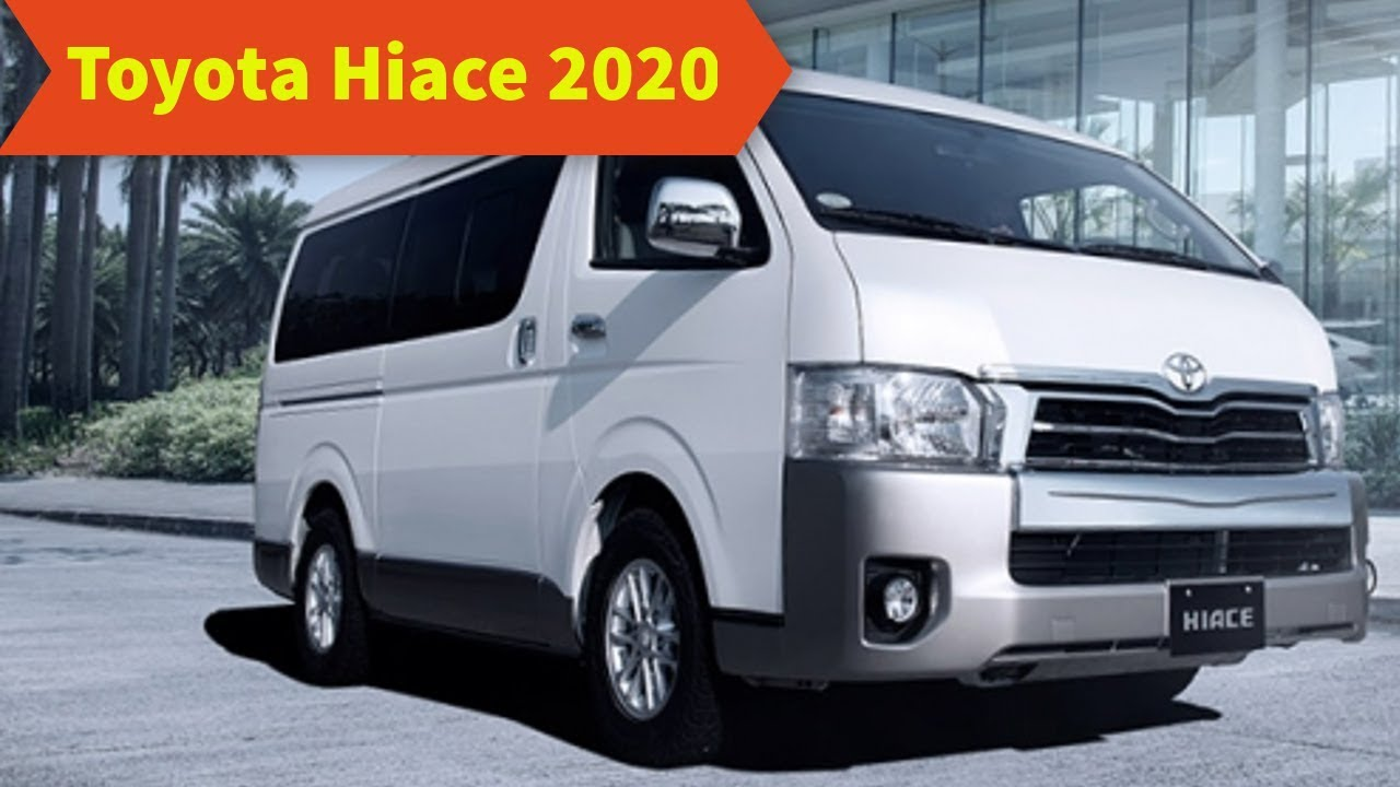 58 A 2020 Toyota Hiace New Review