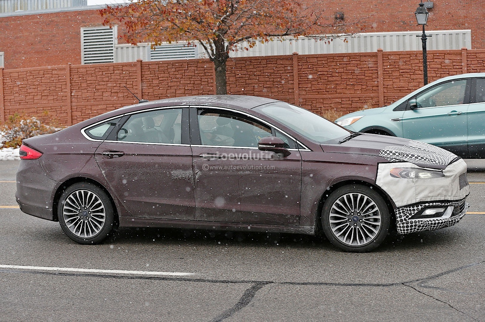 58 New Spy Shots Ford Fusion Configurations