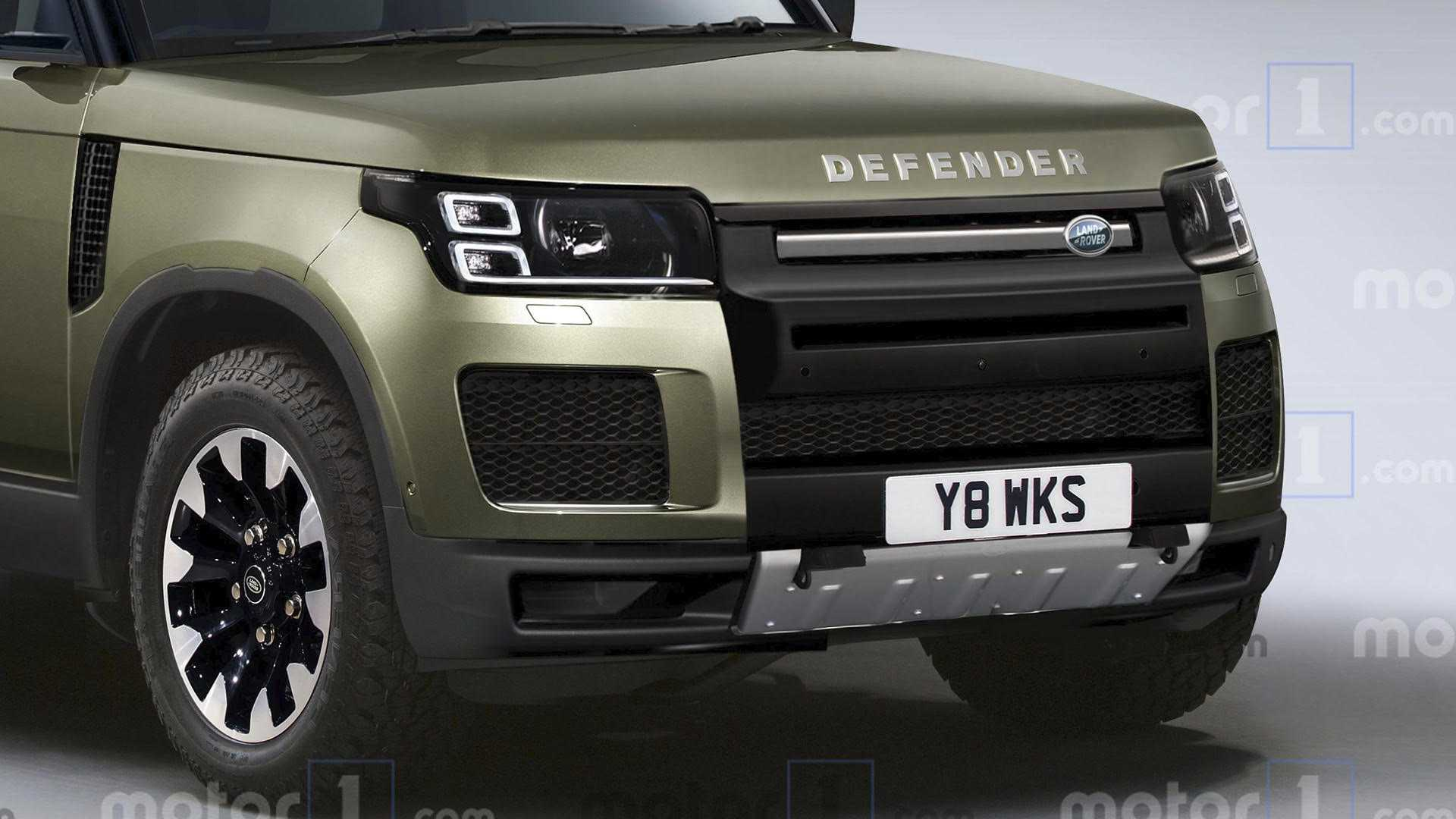 58 The 2020 Land Rover Defender Concept