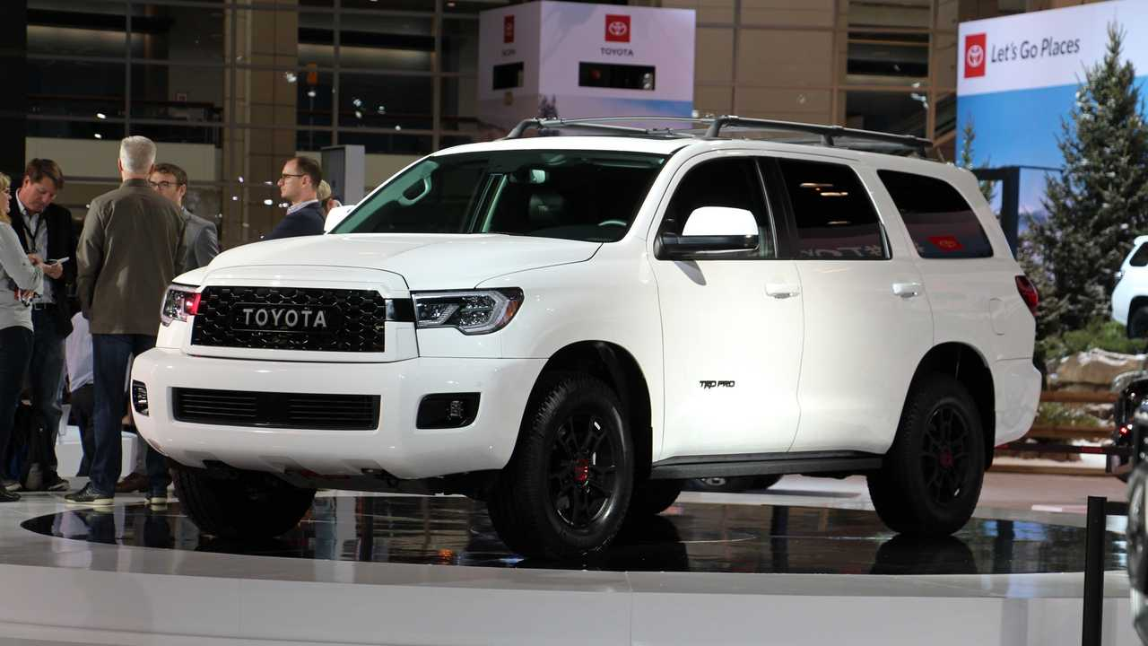 58 The Best 2020 Toyota Sequoias Redesign