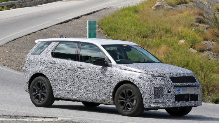 59 A 2020 Land Rover Discovery Sport Exterior and Interior