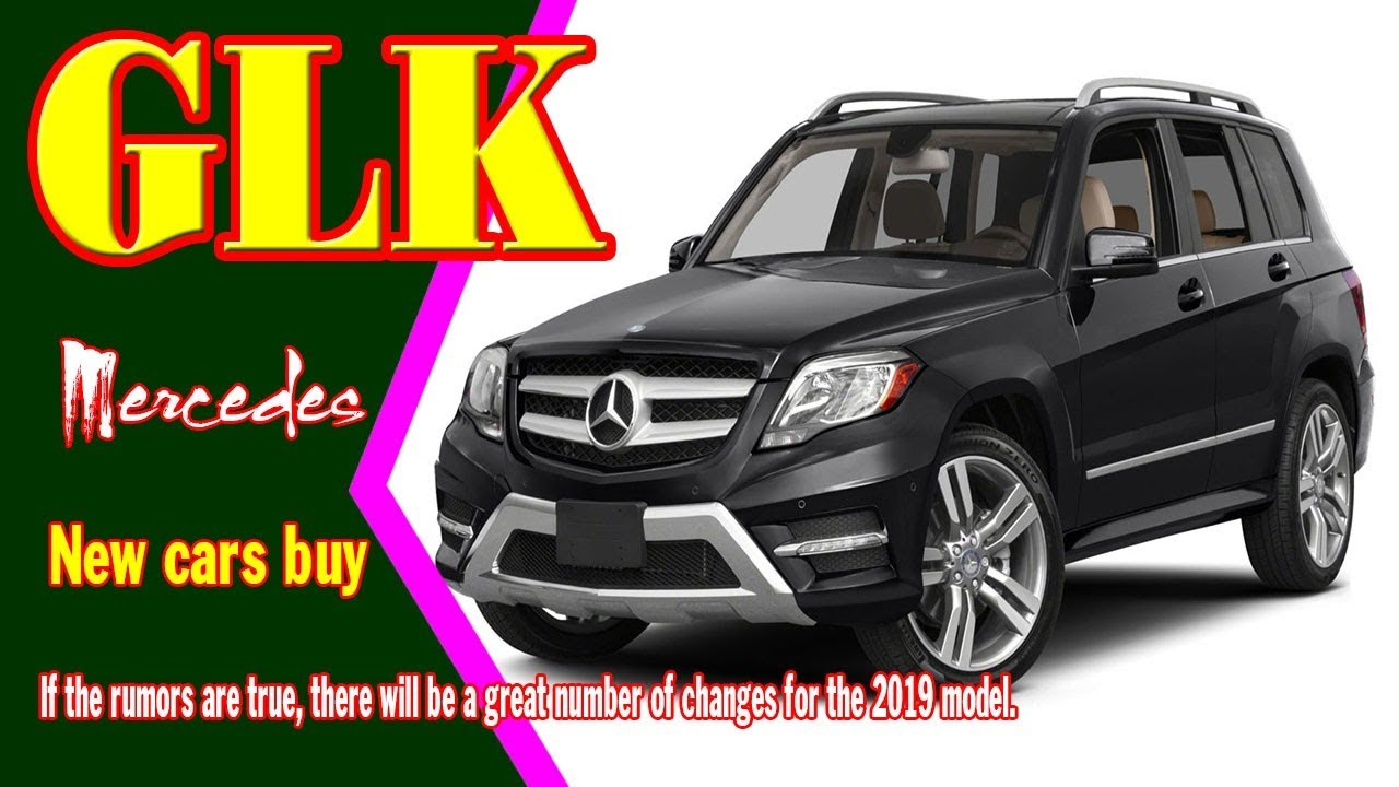59 All New 2020 Mercedes Benz GLK Redesign and Concept