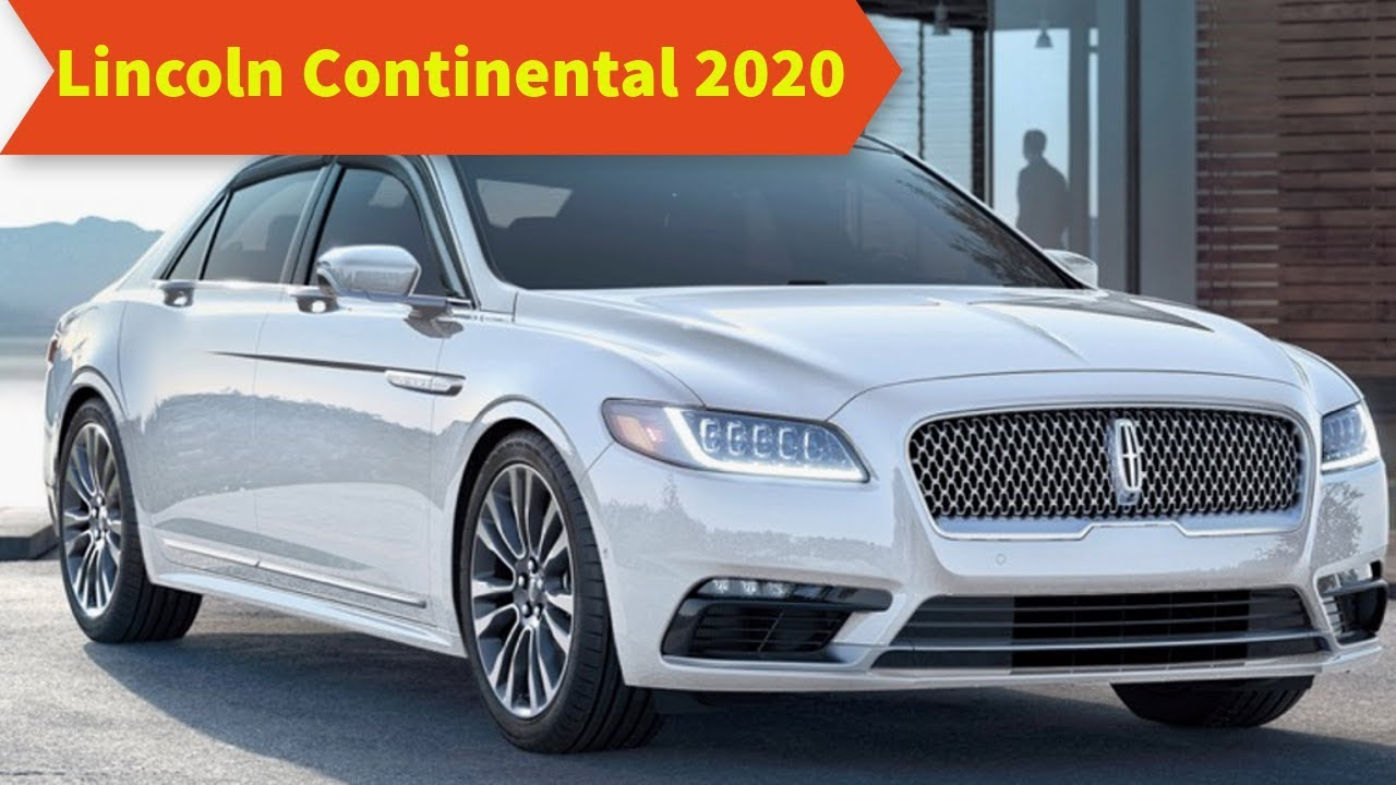 59 The Best 2020 Lincoln Continental Exterior and Interior