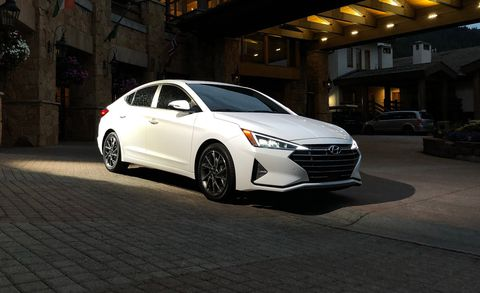 60 The 2019 Hyundai Elantra Sedan Picture