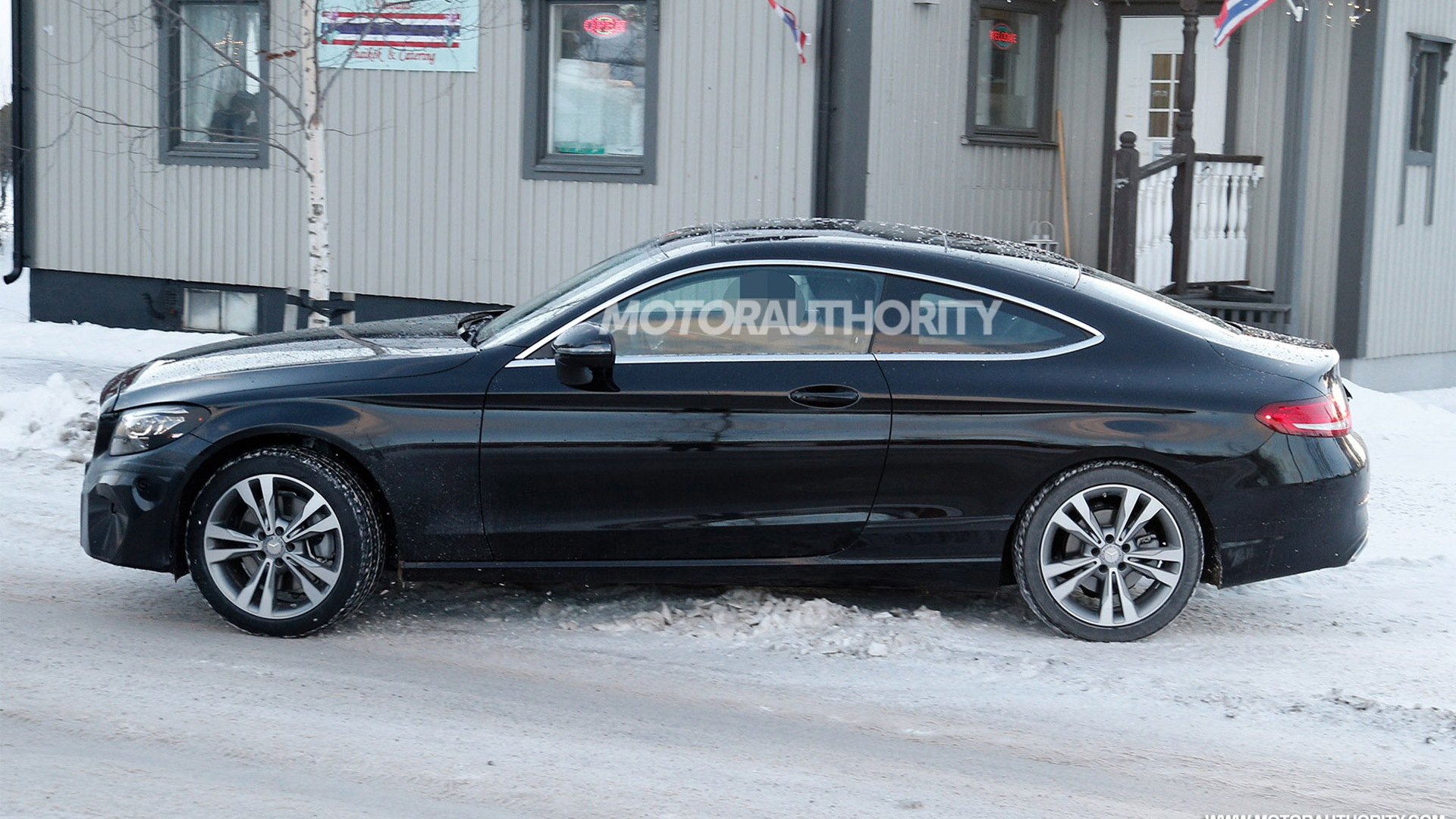 60 The 2020 Mercedes Benz C Class Spy Shoot
