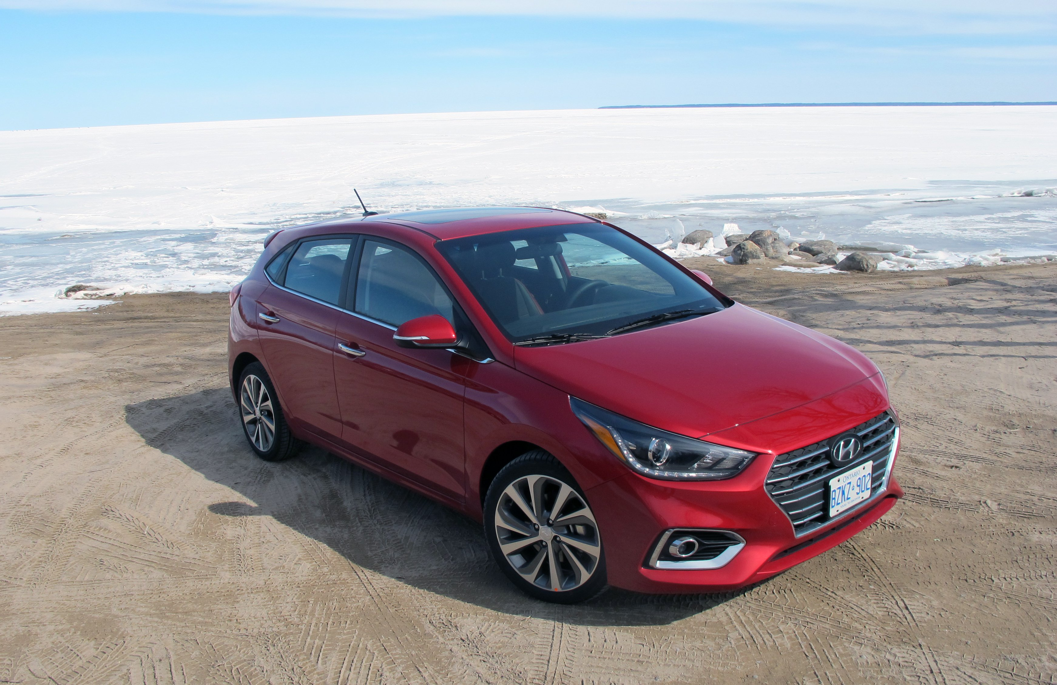 61 A 2019 Hyundai Accent Hatchback Overview