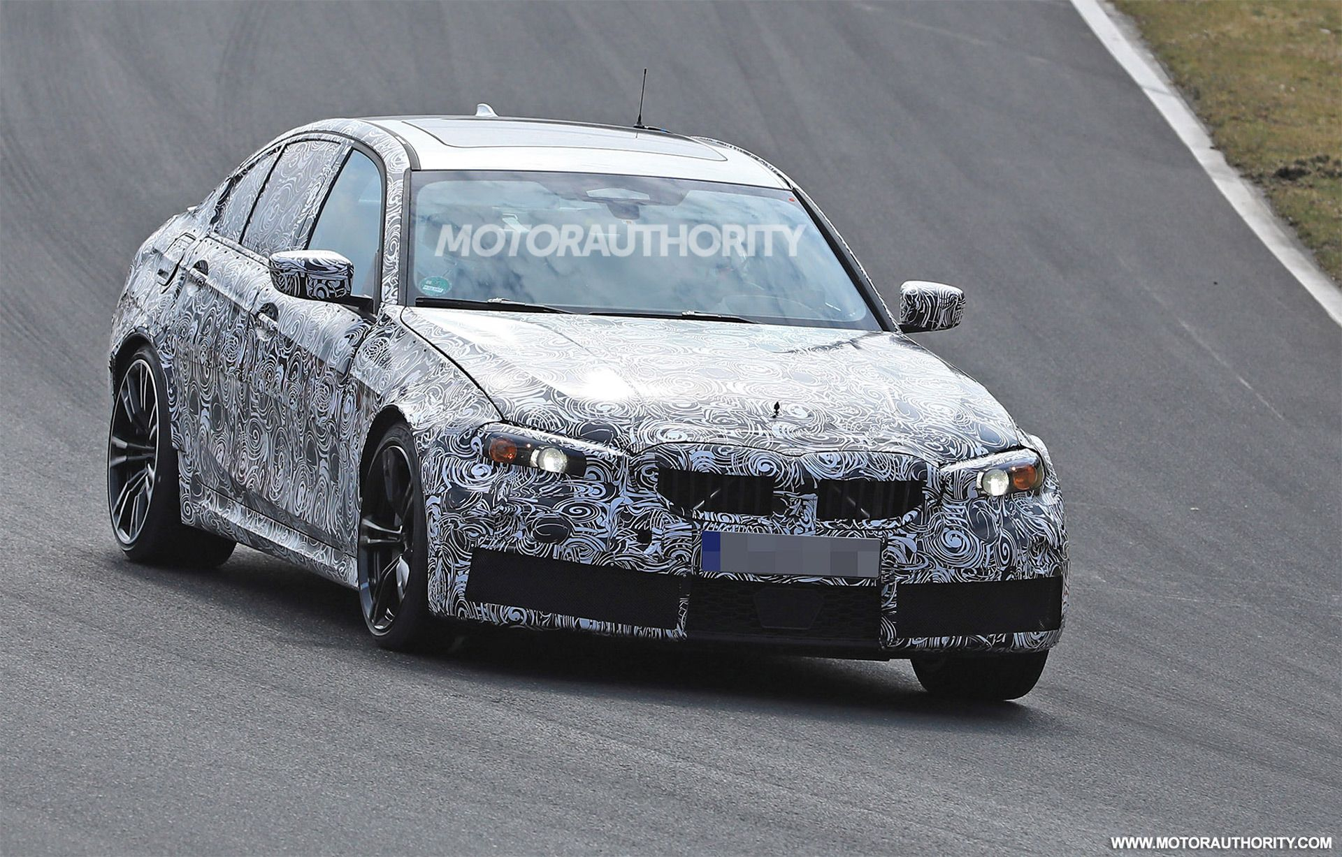 61 A 2020 Spy Shots BMW 3 Series Speed Test