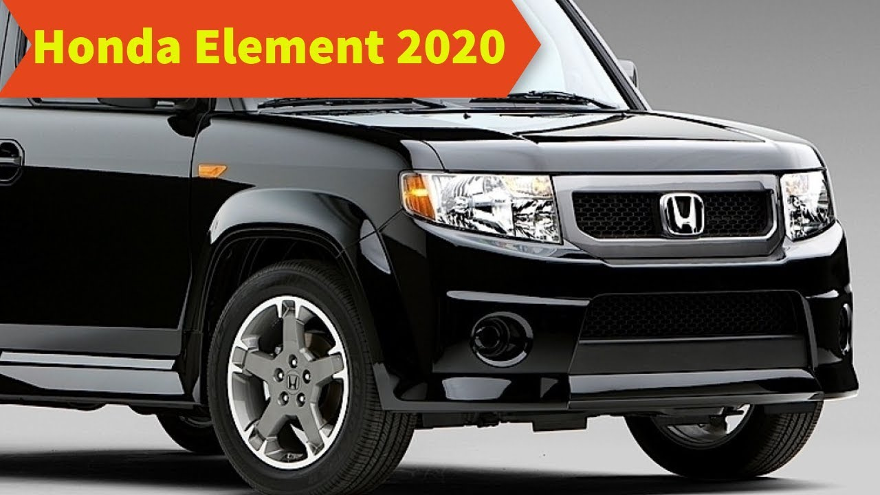 61 Best 2020 Honda Element Redesign and Review