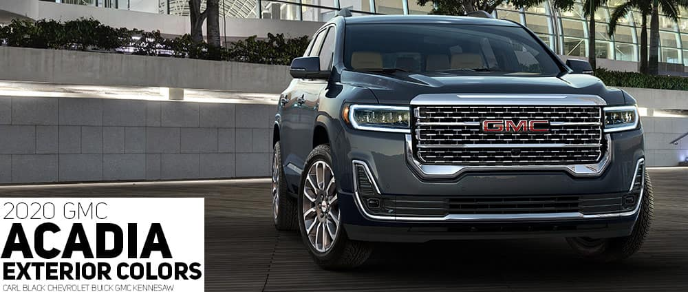 61 The Best 2020 GMC Acadia Exterior