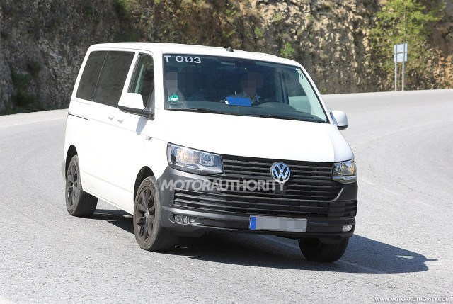 62 The Best 2020 VW Transporter Spy Shoot