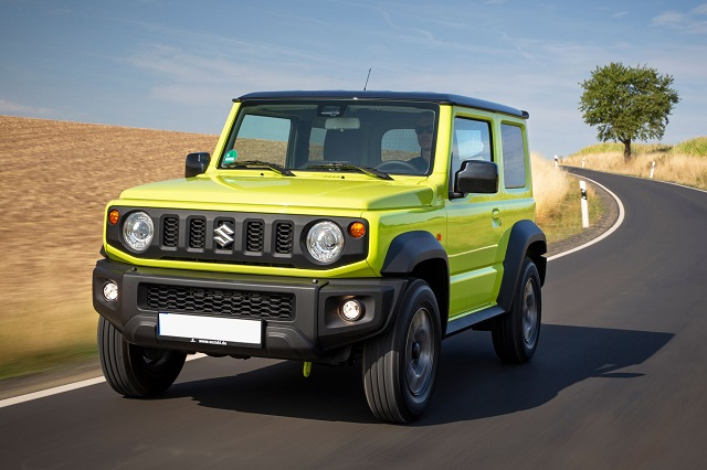 63 A 2020 Suzuki Jimny Ratings