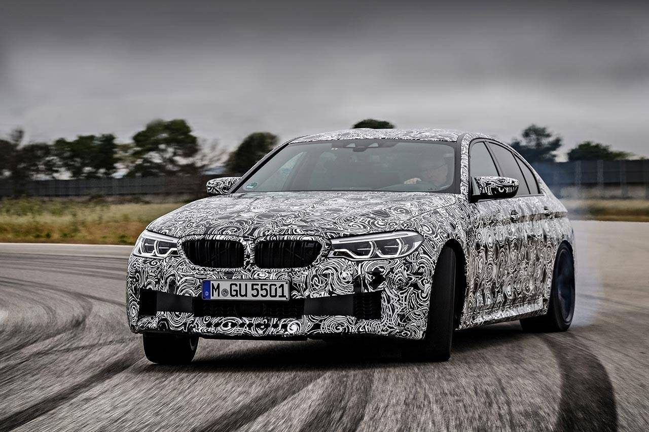 63 The Best 2020 BMW M5 Get New Engine System Spy Shoot