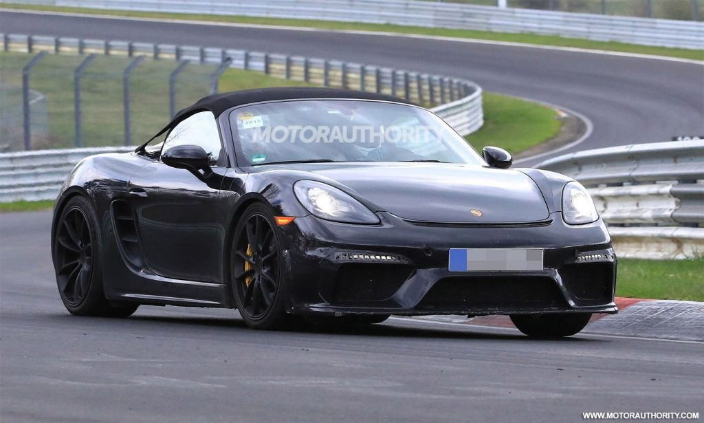 63 The Best 2020 Porsche Boxster Spyder Performance and New Engine