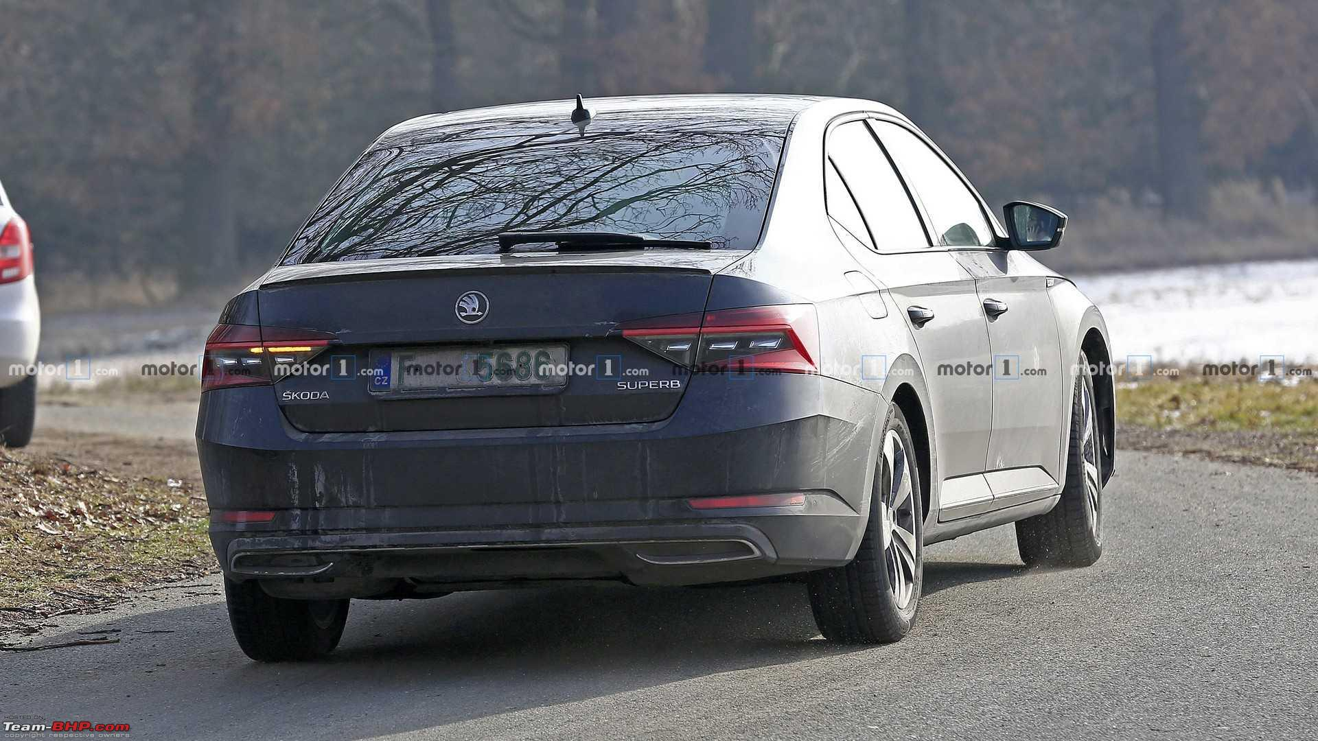 63 The Spy Shots Skoda Superb Price Design and Review
