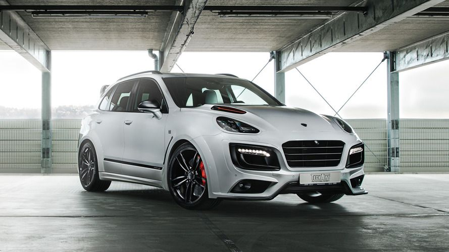 64 A 2019 Porsche Cayenne Turbo S Wallpaper