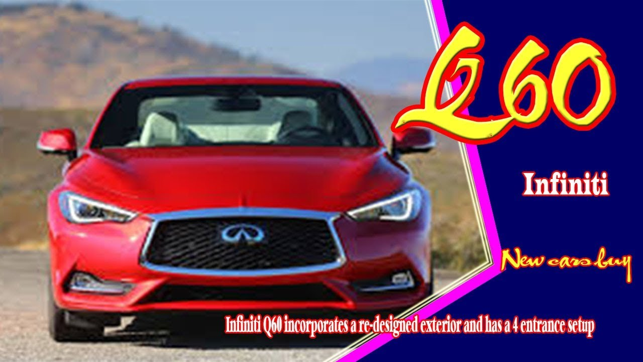 64 All New 2020 Infiniti Q60 Coupe Convertible New Review