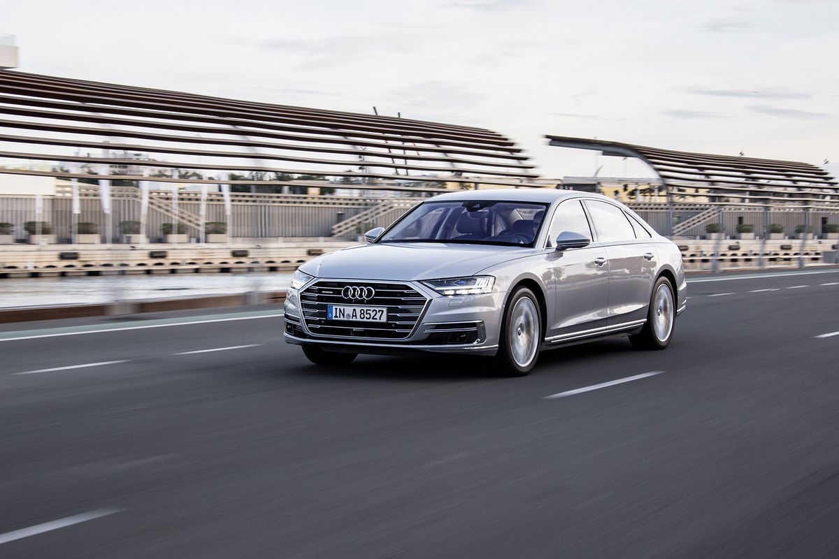 64 The Audi A8 Performance