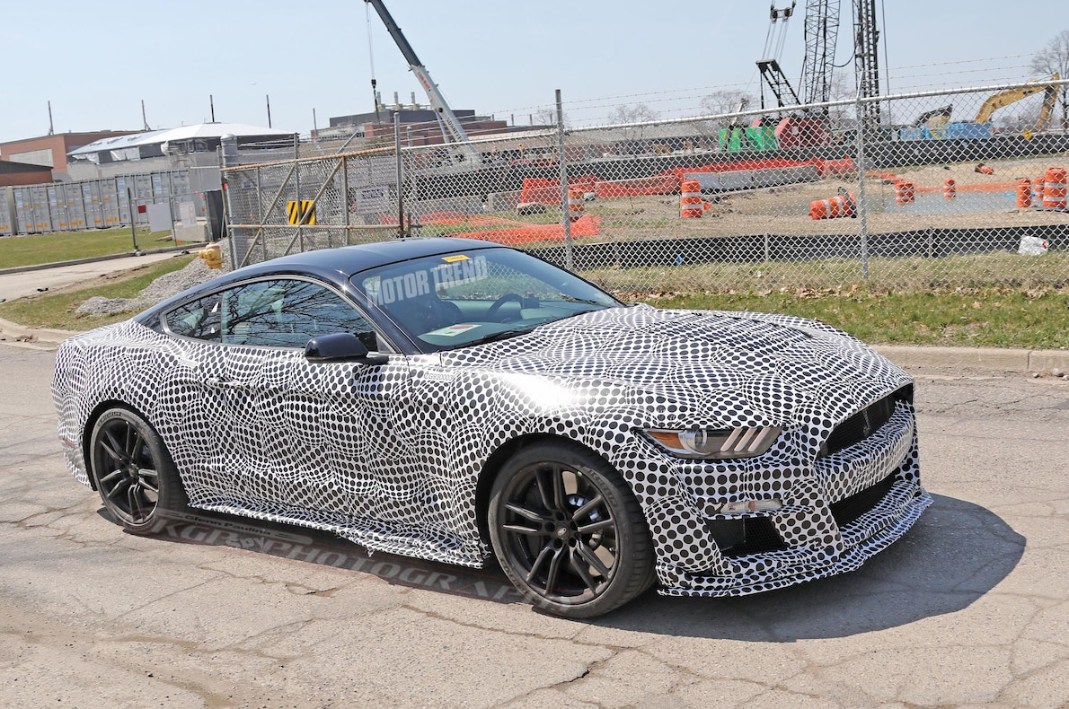 66 A 2020 The Spy Shots Ford Mustang Svt Gt 500 First Drive